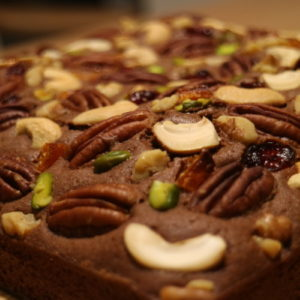 Nuts Top Cake